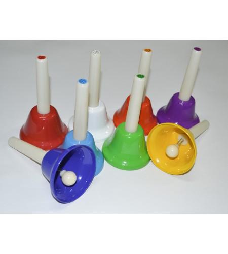 8-Note Hand Bells Set